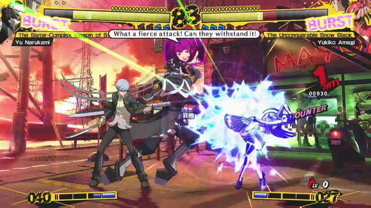 Knight Joetos playing Persona 4: Arena