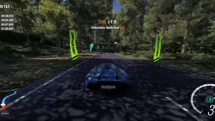 FRF Gabriel playing Forza Horizon 3