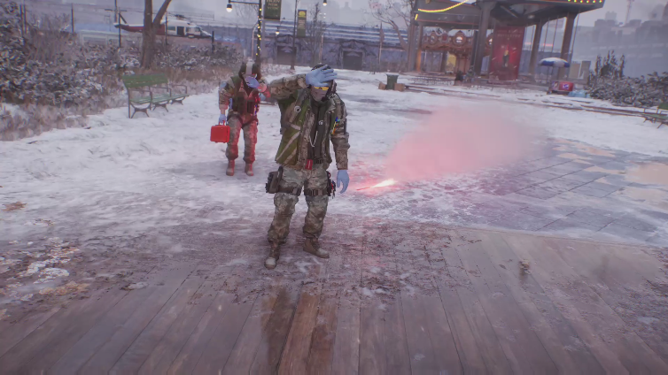 TiagoBola playing Tom Clancy's The Division