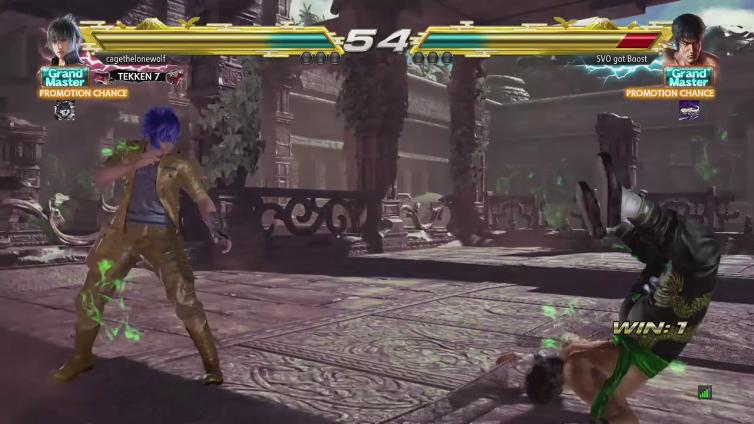 cagethelonewolf playing Tekken 7