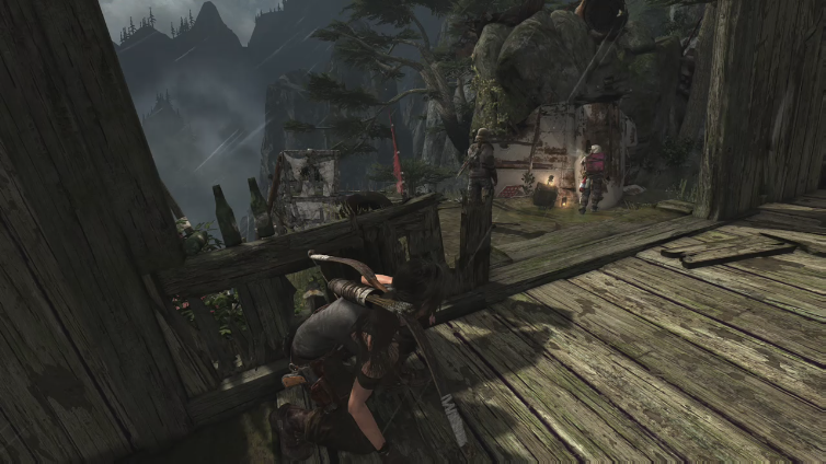 TinyTepigGaming playing Tomb Raider - Definitive Edition